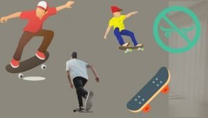 how to stop on a skateboard