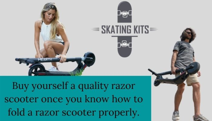 Complete Guide on how to Fold a Razor Scooter